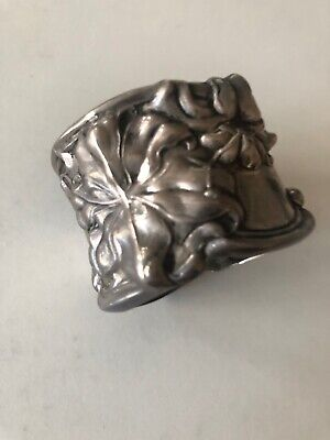 Frank Whiting Art Neuveau Sterling Silver Napkin Ring No Mono