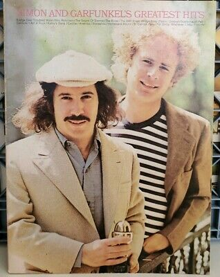 Simon and Garfunkel - Greatest Hits Paperback Guitar Tab Sheet Music