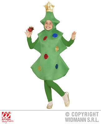 Unisex Boys Girls Christmas Tree Costume Outfit for Decoration Fancy Dress