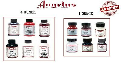 Angelus Acrylic Leather Paint for Sneakers, Shoes, Bags - 6 Colors