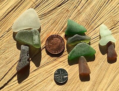 Vintage Irish Sea Glass ~ craft projects ~ Cards Frames ~ Trees Forest Woods