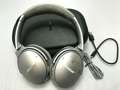 Bose QuietComfort 35 Noise Cancelling Wireless Headphones II QC35 Silver --