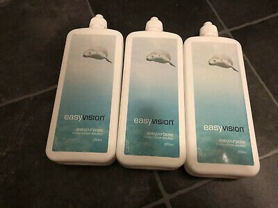 SPECSAVERS easy Vision Contact Lens Solution X3 Plus Lens Cases