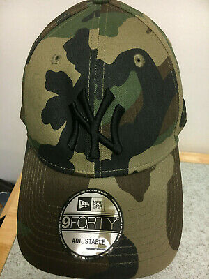 New Era 9Forty New York Yankees Camouflage Adjustable Cap 100% Cotton