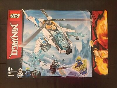 *NEW SEALED* LEGO NINJAGO 70673 Shuricopter 8+ Construction Building Playset