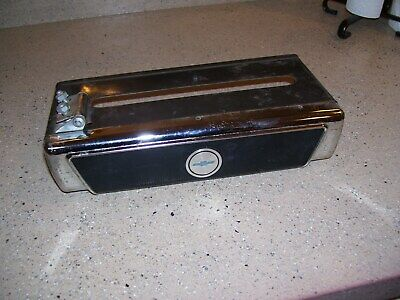 Vintage 1960' s original GM parts accessories Tissue dispenser Chevrolet autos