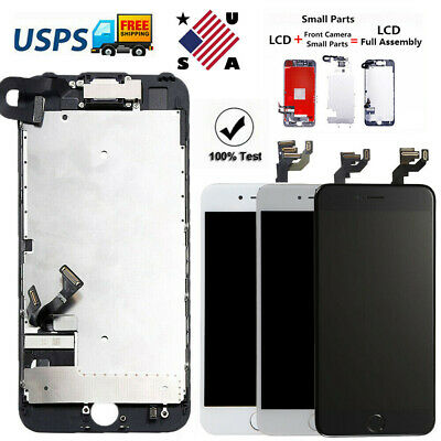 OEM For iPhone 6 6S 7 8 Plus Complete LCD Screen Replacement Home Button Camera