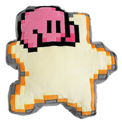 "Kirby of the Stars 8-Bit Kirby on Warpstar 12""Pillow Cushion Plush[Little Buddy]"