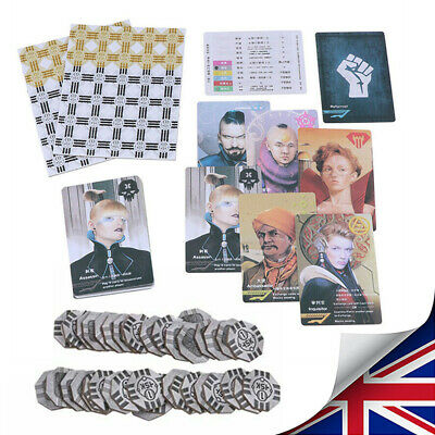 Coup Card Game Full English Version Board Game Basic Game Family Party Games Hot