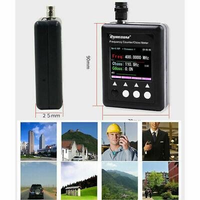 Digital Portable Radios Frequency Counter LCD Counting Wave Signal Meter Tester