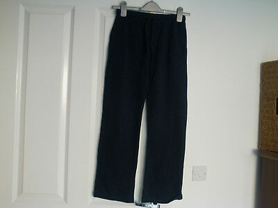 Next Navy Blue Jogging Bottoms  - Aged 10 Years