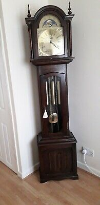 Grandfather Clock Fenclocks Of Suffolk Triple Musical Chimes Showroom Condition