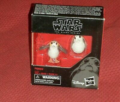 Star Wars PORGS 2 pack Black Series The Last Jedi carded FREE SHIPPING