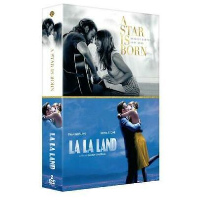 "DVD ""A Star Is Born +  La La Land"" - Lady Gaga, Bradley Cooper NEUF SOUS BLISTER"