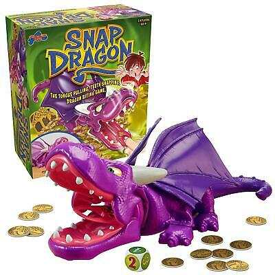 Snap Dragon Kids Action Board Game Family Children Fun Collect Coins Dice New