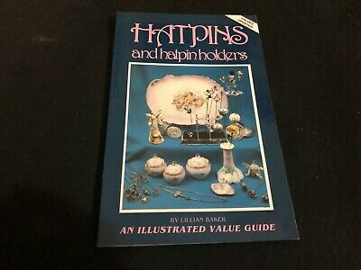 VINTAGE PRICE COLLECTORS GUIDE book - 1990 HATPINS AND HATPIN HOLDERS