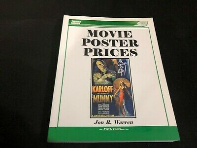 VINTAGE PRICE COLLECTORS GUIDE book - 2002 MOVIE POSTERS PRICES