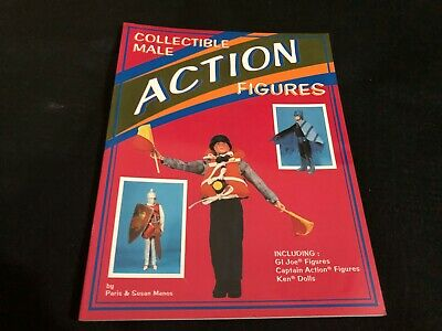 VINTAGE PRICE COLLECTORS GUIDE book - 1990 MALE ACTION FIGURES