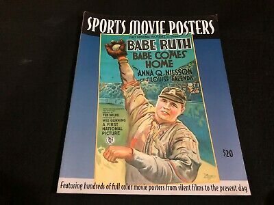 VINTAGE PRICE COLLECTORS GUIDE book - SPORTS MOVIE POSTERS