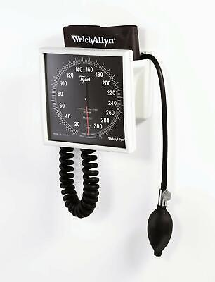 Welch Allyn 7670-01 Wall/mobile Aneroid Sphygmomanometer gage adult cuff NEW