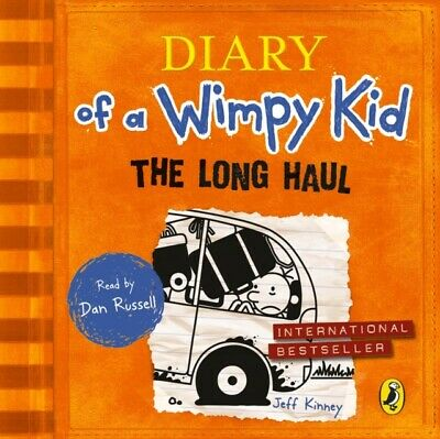 The Long Haul (Diary of a Wimpy Kid book 9) (Audio CD), Kinney, Jeff