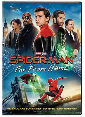 Spider-Man: Far From Home (DVD, 2019 - Marvel Franchise) New & Sealed FREE S/H