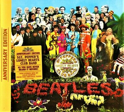 The Beatles - Sgt Pepper's Lonely Hertas Club Band Anniversary Edition Cd