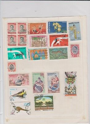 WORLD ASST old collection page STAMPS CHEAP 16