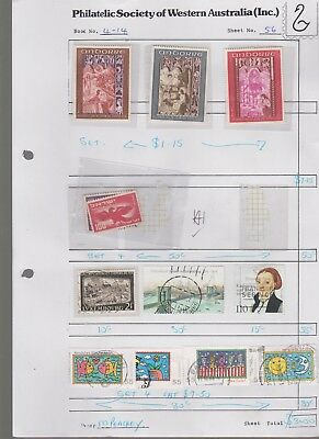 WORLD ASST old collection page STAMPS CHEAP 7