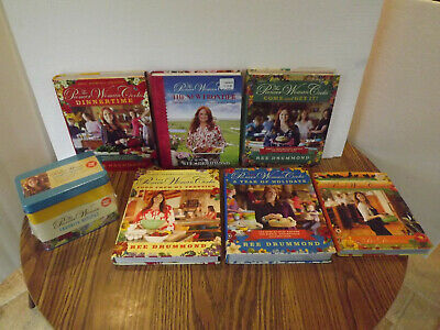 7Lot REE DRUMMOND The Pioneer Woman Cooks THE NEW FRONTIER Cookbooks +RECIPE TIN