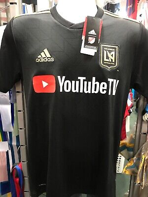 adidas LAFC Authentic Home Jersey 2019 | Products | Black