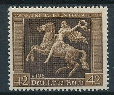 [33156] Germany 1938 Horse Good stamp Very Fine MNH Value $165