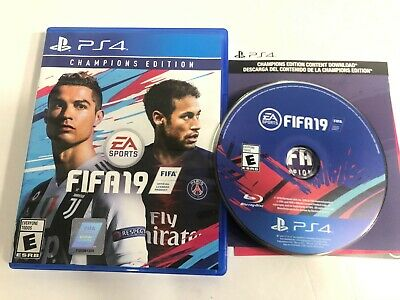 FIFA 19 - Champions Edition (Sony PlayStation 4, 2018) PS4 Soccer World Cup