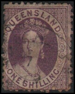 Australian States-Queensland #31 Used