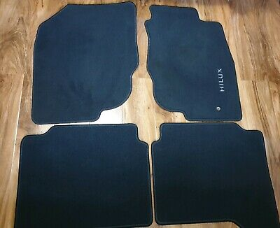 2005-2011 3332 Toyota Hilux Double Cab Genuine UCP Tailored Car Mats 2WD