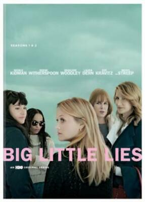BIG LITTLE LIES: SEASONS 1-2 (Region 1 DVD,US Import,sealed.)
