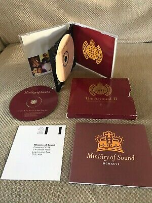 Ministry Of Sound (Mos)- The Annual 2 Ii - Box Set Edition *Very Good Condition*