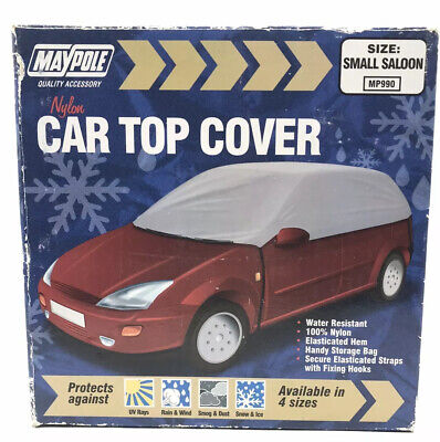 Maypole MPP990 Small Saloon Car Top Cover New Nylon Frost Weather UV Protector