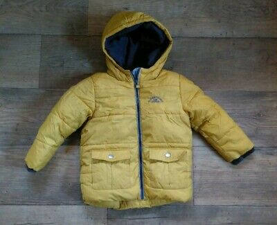 Boys  3 4 Years Next Super Thick Warm Lined Winter Puffa Style Parka Coat School