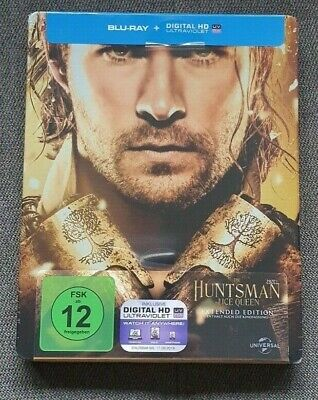 """The Huntsman & The Ice Queen"" Steelbook Limited Edition Blu-Ray Neu & Ovp! New!"