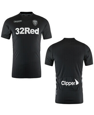Small Womens Size 8 Leeds United Official Kappa 2017 - 2018 Away Shirt