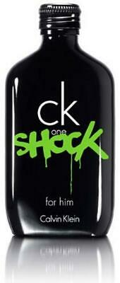 CK One Shock by Calvin Klein for Him 6.7 / 6.8 oz Spray EDT NEW