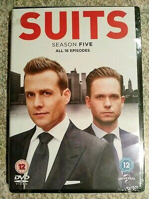 SUITS SEASON 5, DVD REGION 2, new sealed wrapped
