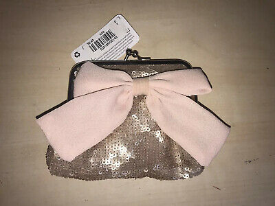 Girls Pink Purse With Bow