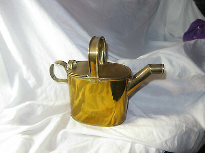 A Traditional Vintage Brass Watering Can