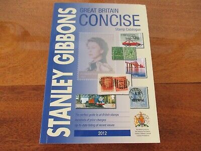 Stanley Gibbons Great Britain Concise Stamp Catalogue 2012, Free Postage