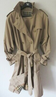 UK Mantel Damen Schwarz TRENCHCOAT GRDE 40 14 BURBERRY b76Yyfg