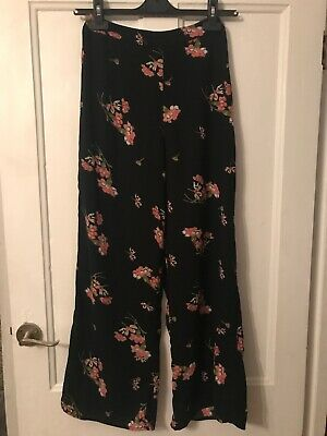 Girls River Island Wide Leg Trousers Age 12