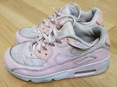 Nike Air Max 90 Pink Girls Kids Trainers Size Uk 1
