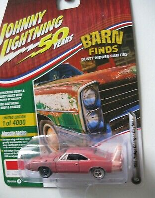 N17 Johnny Lightning Barn Finds 1966 Ford Fairlane GT  2980 pcs